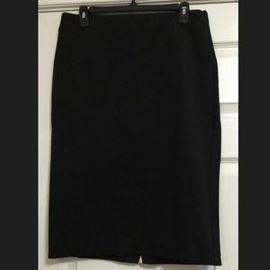 Black Pencil Skirt Catherine Malandrino
